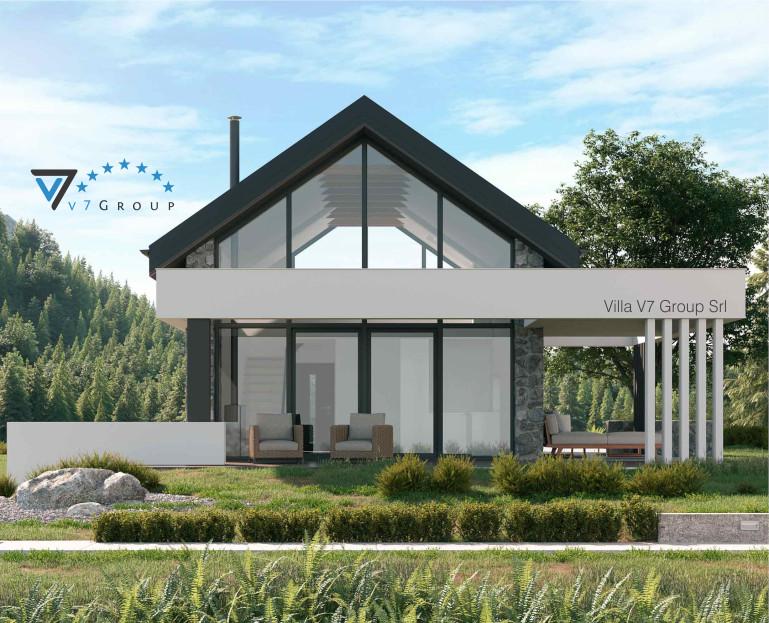 Immagine Villa V65 - vista terrazzo esterno piccolo