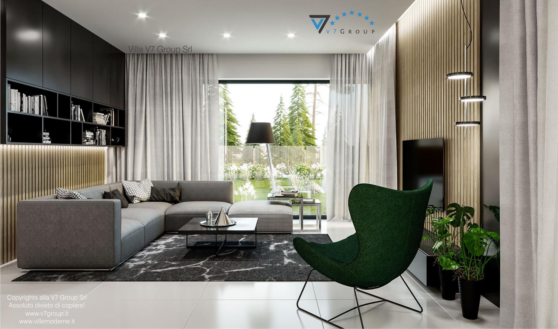 Immagine Villa V69 - immagine 2 - vista divano e tavolo grande