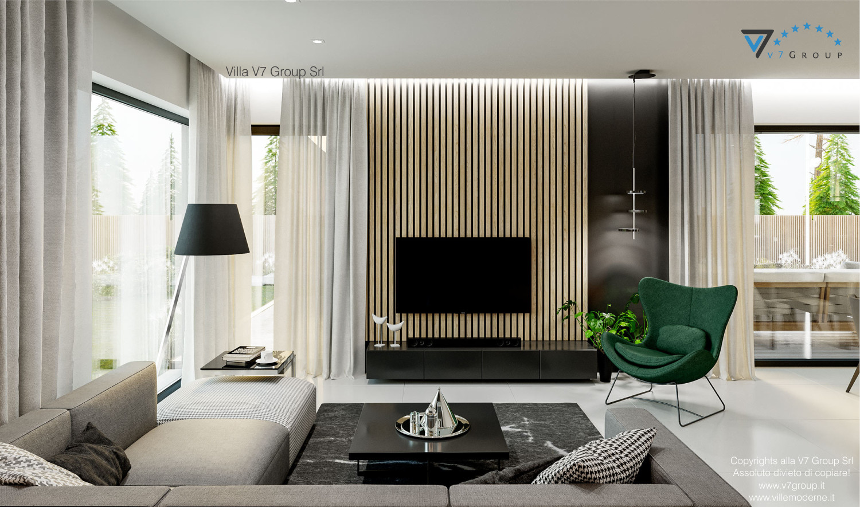 Immagine Villa V69 - immagine 3 - vista tv grande nel soggiorno