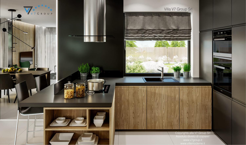 Immagine Villa V69 - immagine 7 - vista cucina in legno grande