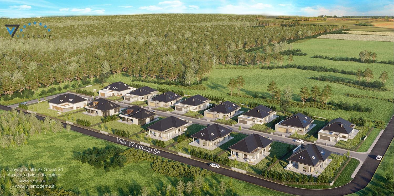 Immagine Villaggio Moderno - vista dall'alto grande