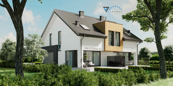 Immagine Nostre Ville - la parte frontale di Villa V61 (D)