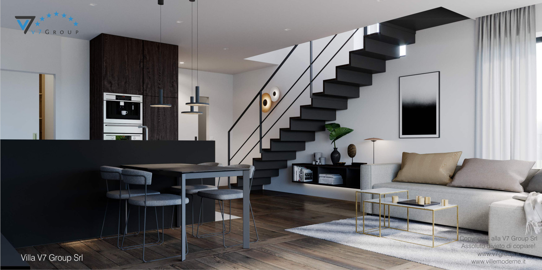 Immagine Villa V61 (D) - interno 1 - soggiorno