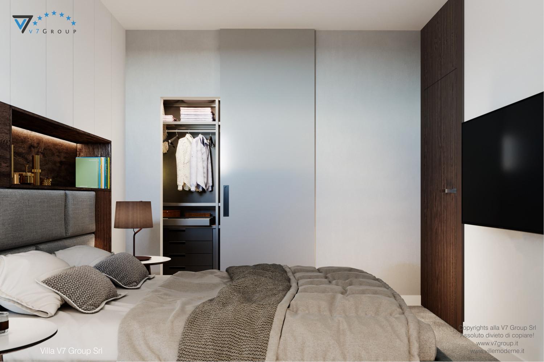 Immagine Villa V61 (D) - interno 4 - letto matrimoniale