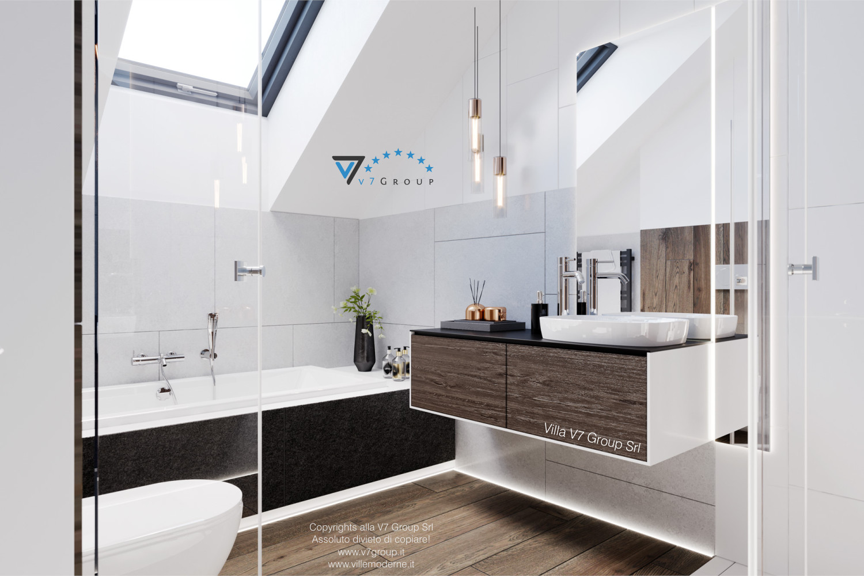 Immagine Villa V61 (D) - interno 7 - vasca da bagno e lavandino