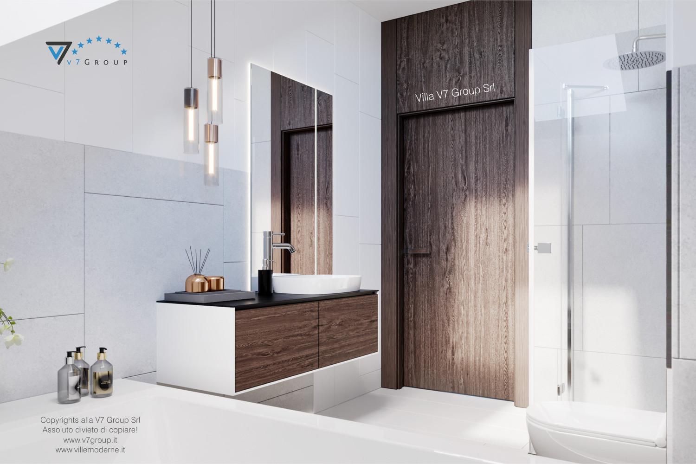 Immagine Villa V61 (D) - interno 8 - entrata del bagno