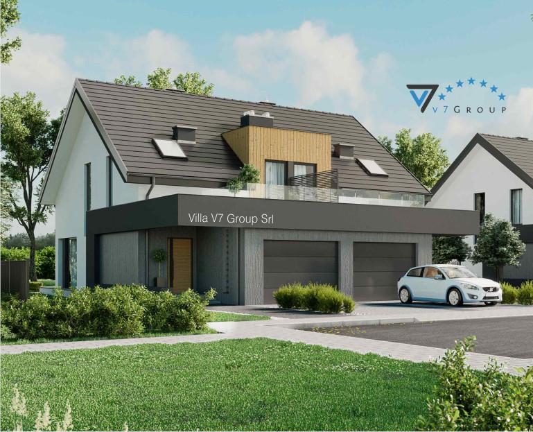 Immagine Villa V61 (D) - vista frontale piccola