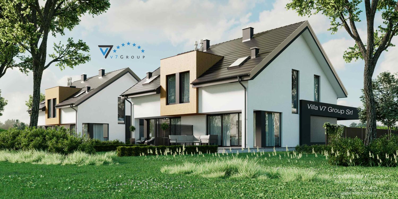 Immagine Villa V61 (D) - vista terrazzo esterno grande