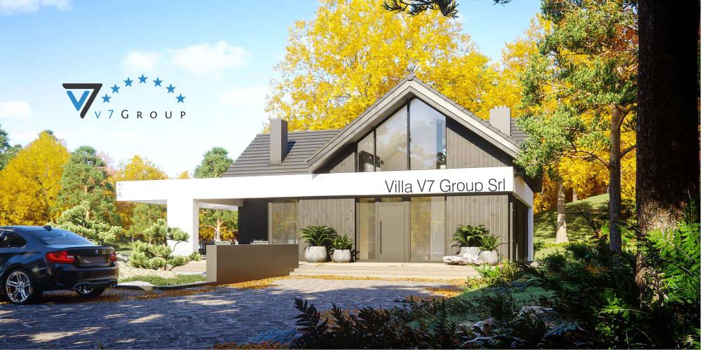 Immagine Villa V68 (progetto originale) - presentazione della Villa V67