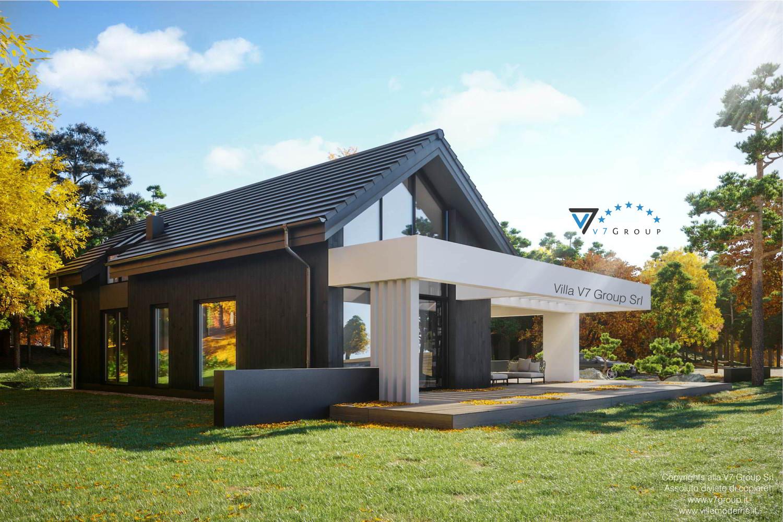 Immagine Villa V67 - vista giardino grande
