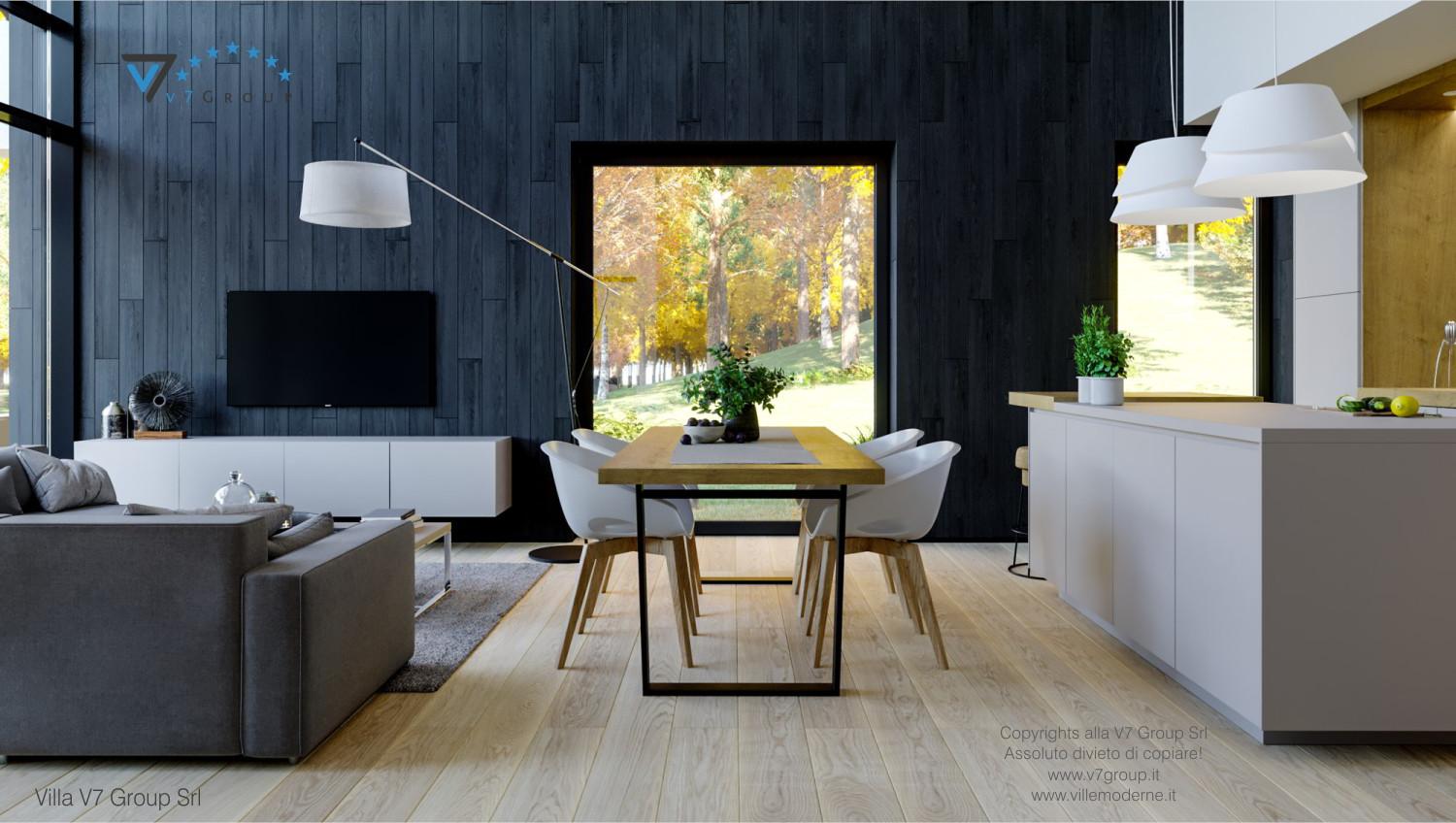Immagine Villa V67 - interno 1 - sala da pranzo grande