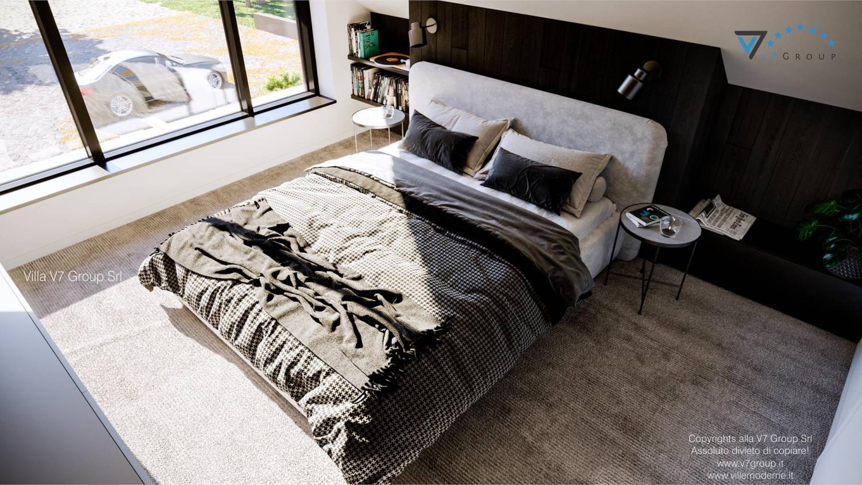 Immagine Villa V67 - interno 12 - il letto matrimoniale