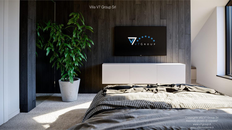 Immagine Villa V67 - interno 13 - la tv nella camera matrimoniale