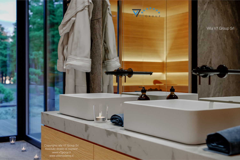 Immagine Villa V67 - interno 16 - i lavandini nel bagno
