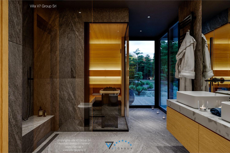 Immagine Villa V67 - interno 17 - l'entrata in sauna