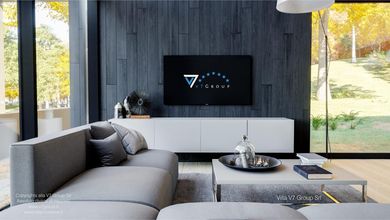 Immagine Villa V67 - interno 4 - la tv nel soggiorno