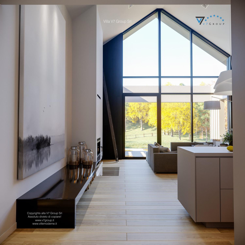 Immagine Villa V67 - interno 9 - il corridoio