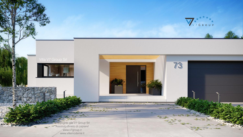 Immagine Villa V73 - vista frontale grande