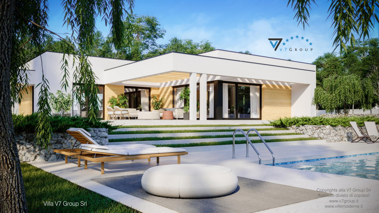 Immagine Villa V73 - vista piscina grande