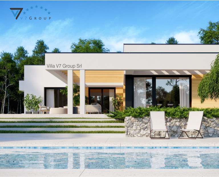Immagine Villa V73 - vista piscina piccola