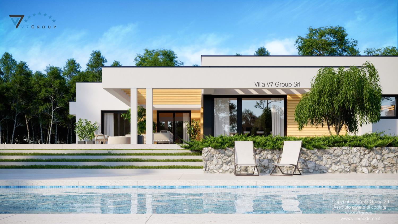 Immagine Villa V73 - vista terrazzo esterno