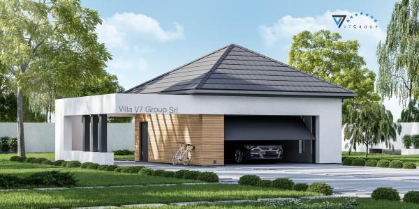 Immagine Nostre Ville - il garage in stile moderno