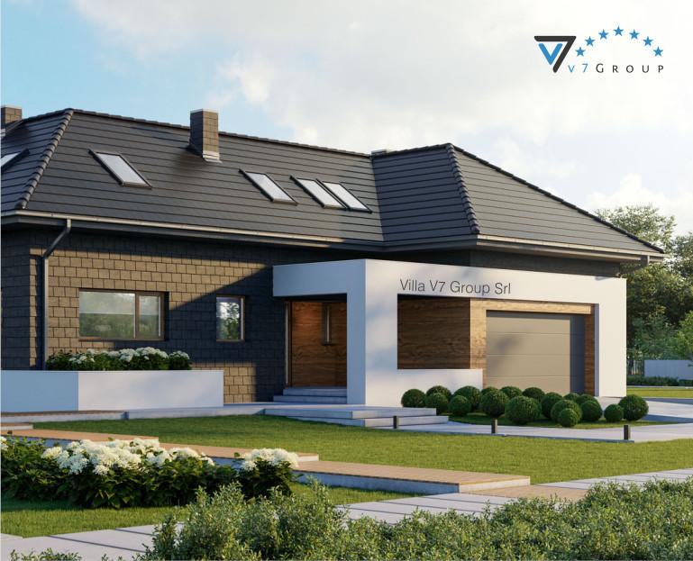 Immagine Villa V13 ENERGO - il terrazzo esterno ingrandito
