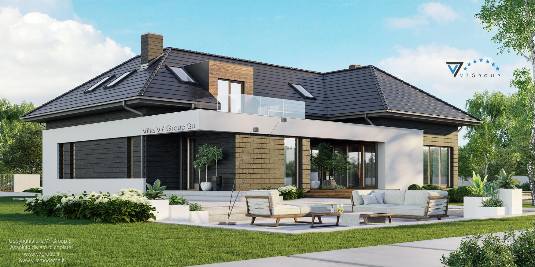 Immagine Villa V13 ENERGO - nowy - vista laterale