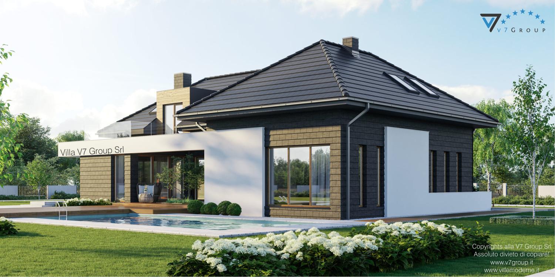 Immagine Villa V13 ENERGO - nowy - vista piscina