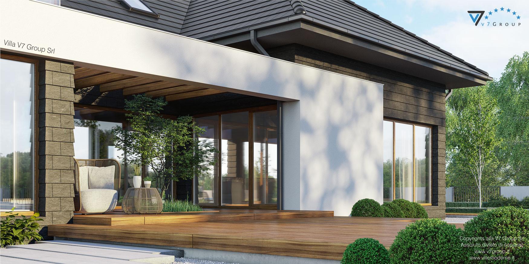 Immagine Villa V13 ENERGO - nowy - vista terrazzo esterno