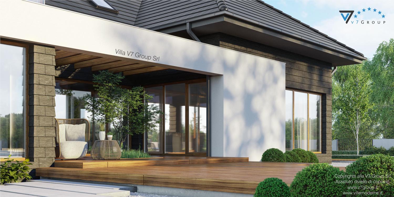 Immagine Villa V13 - nowy - vista terrazzo esterno in dettaglio