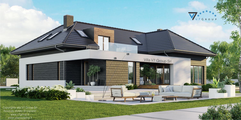 Immagine Villa V13 - nowy - vista terrazzo esterno