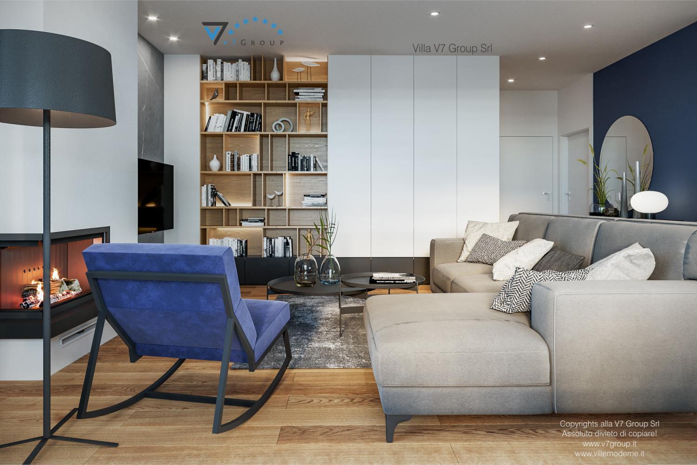 Immagine Villa V70 - interno 2 - soggiorno grande