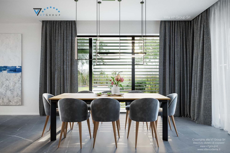 Immagine Villa V70 - interno 6 - la sala da pranzo