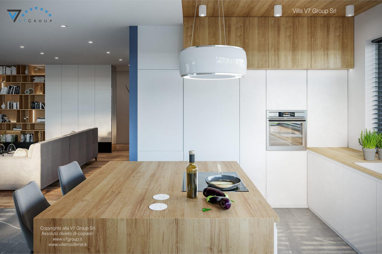 Immagine Villa V70 - interno 8 - il tavolo nella cucina