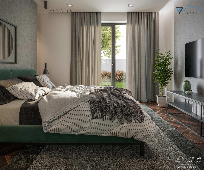 Immagine Villa V71 - interno 12 - il letto e la tv grande