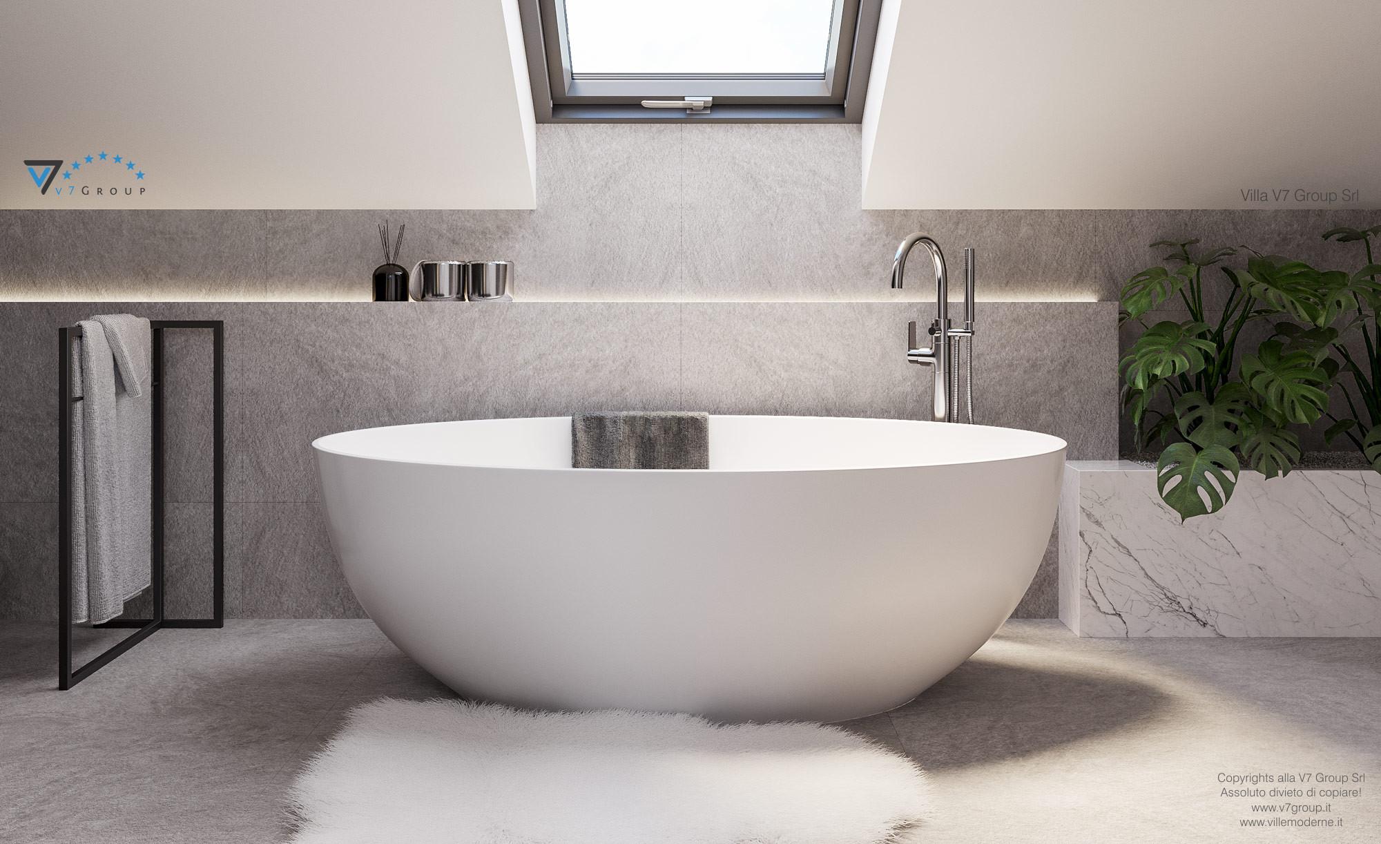 Immagine Villa V71 - interno 14 - la vasca nel bagno grande