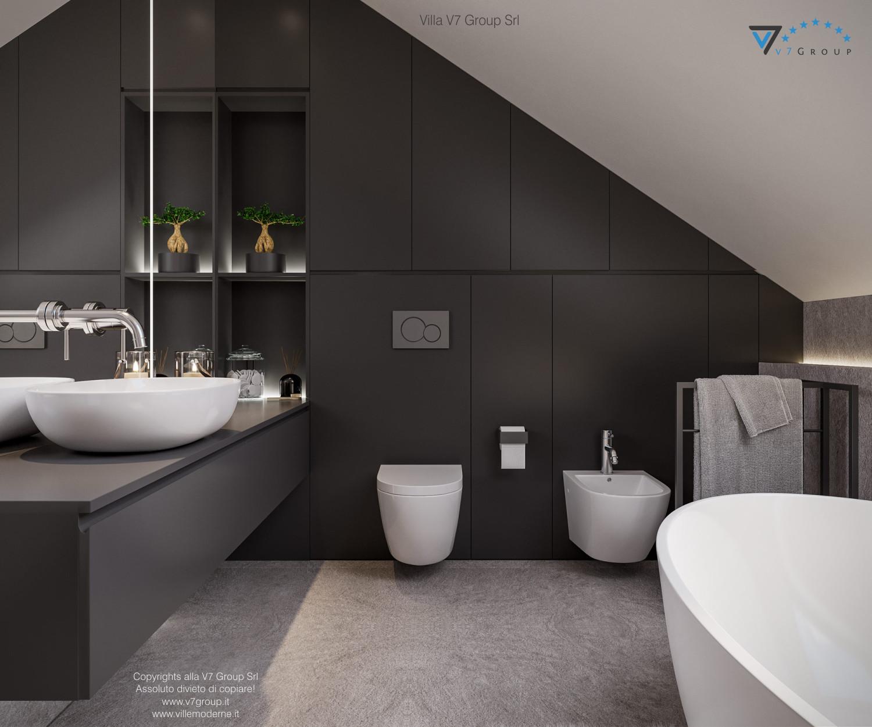 Immagine Villa V71 - interno 15 - lavandini nel bagno grande