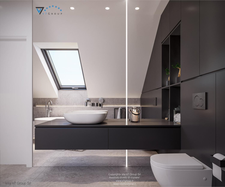 Immagine Villa V71 - interno 16 - lo specchio nel bagno