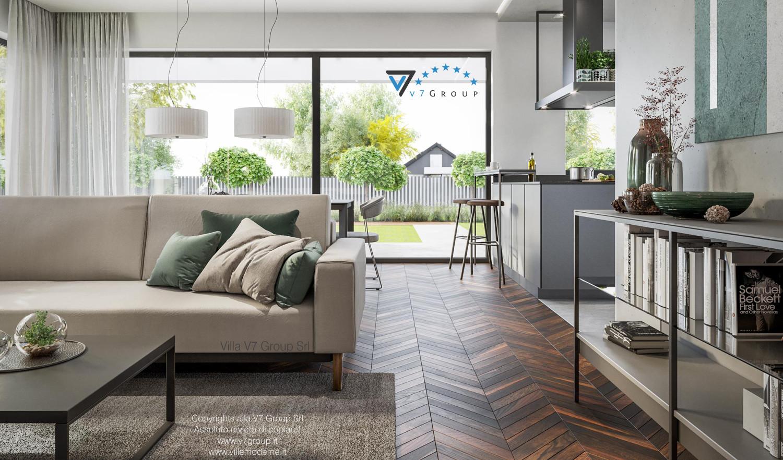 Immagine Villa V71 - interno 3 - corridoio e soggiorno grande