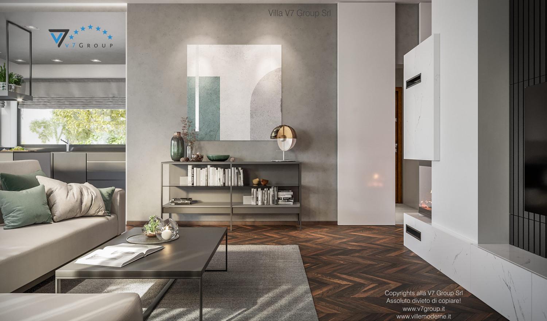 Immagine Villa V71 - interno 4 - tavolo nel soggiorno grande