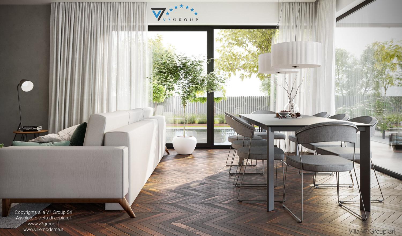 Immagine Villa V71 - interno 5 - sala da pranzo grande