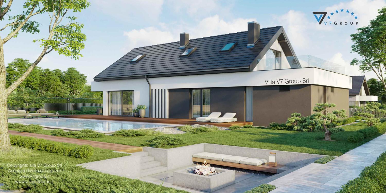 Immagine Villa V71 - vista giardino grande