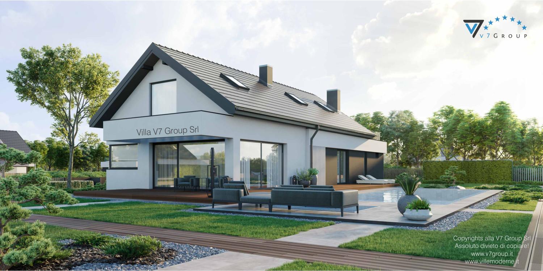 Immagine Villa V71 - vista giardino laterale grande