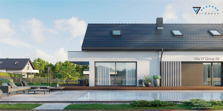 Immagine Villa V71 - vista piscina grande