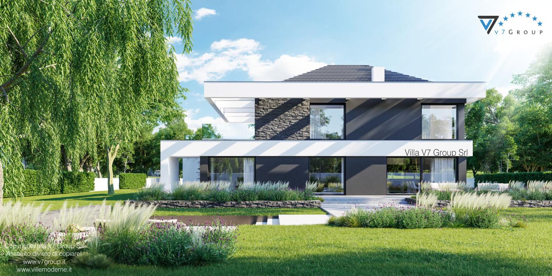 Immagine Villa V37 - nuova vista giardino