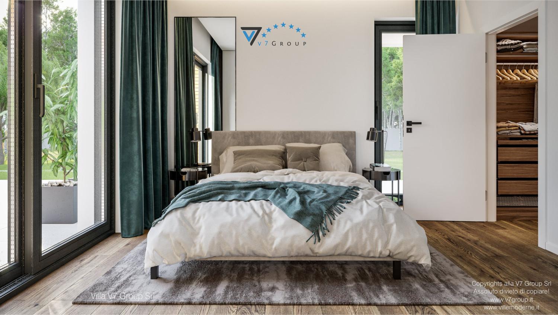 Immagine Villa V73 - interno 10 - il letto matrimoniale grande