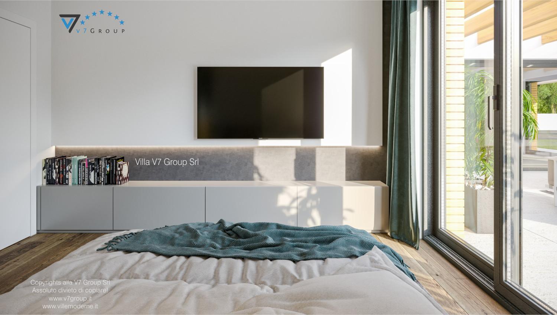 Immagine Villa V73 - interno 12 - la tv nella camera matrimoniale grande
