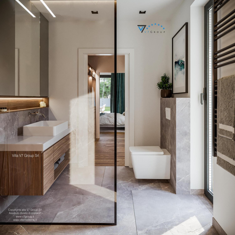 Immagine Villa V73 - interno 16 - il lavandino nel bagno grande
