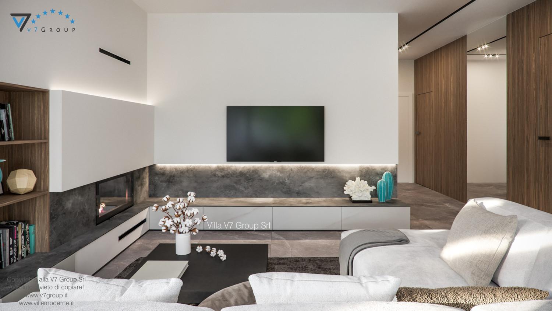 Immagine Villa V73 - interno 2 - tv nel soggiorno grande